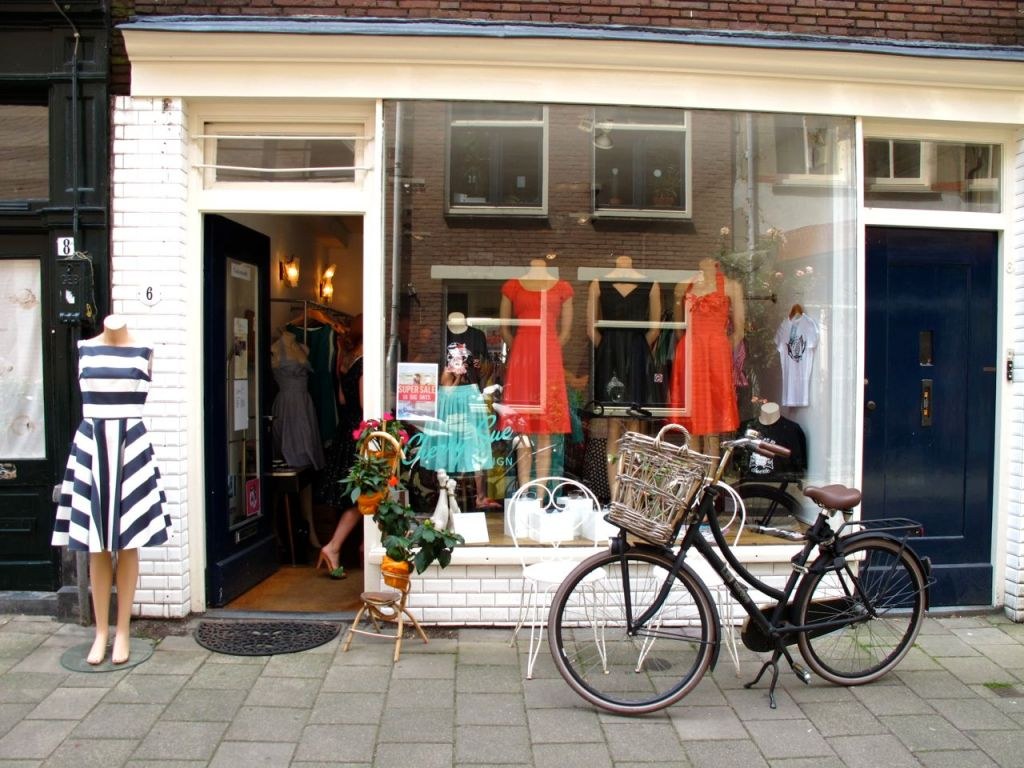 Shop in Amsterdam Jordaan Quarters
