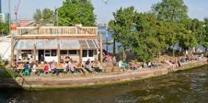Summertime hangout in Amsterdam: Hannekes Boom