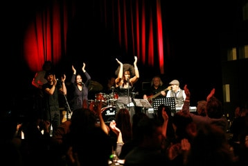 Live music at Club Dauphine Amsterdam