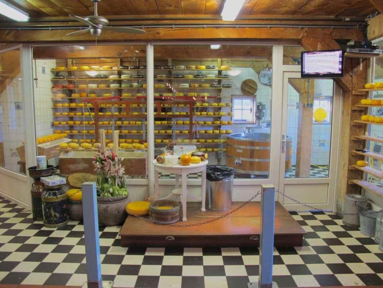 cheese making Zaanse Schans
