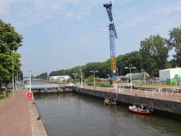Sluices bike tour Amsterda