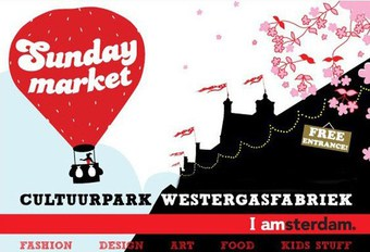 Logo Sunday Market Amsterdam events 2018