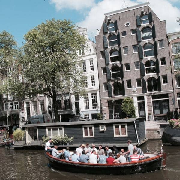 Boat ride Amsterdam canals