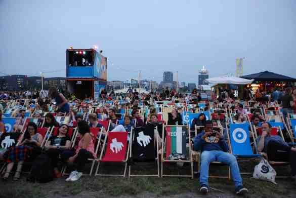 Open air film festival Pluk de Nacht, Amsterdam. Photo by: Marloes den Hoed