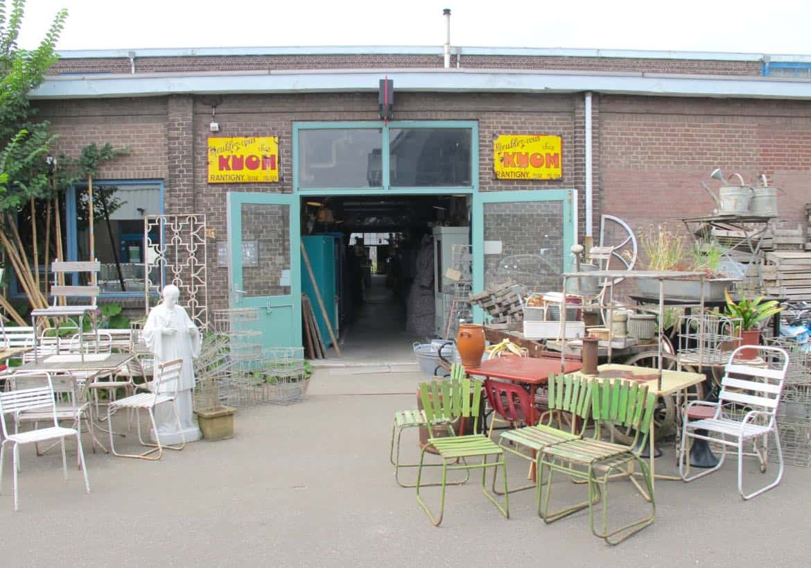 Vintage shopping Amsterdam Noord