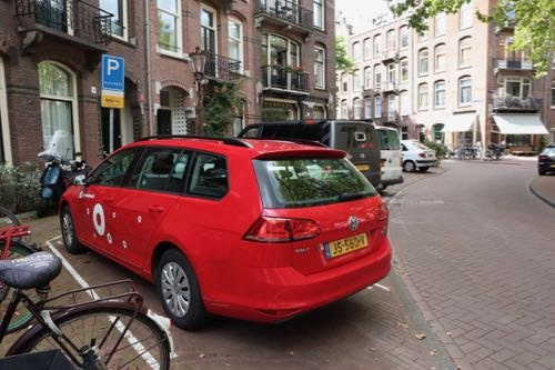 Car parking Amsterdam