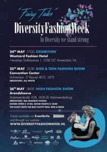 diversity fashion week flyer