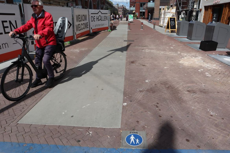 breaking the bike rules in Amsterdam