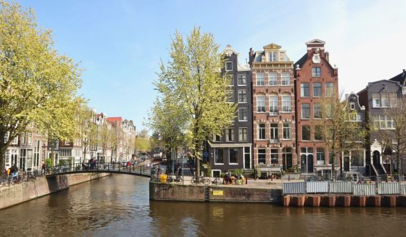 Amsterdam quays