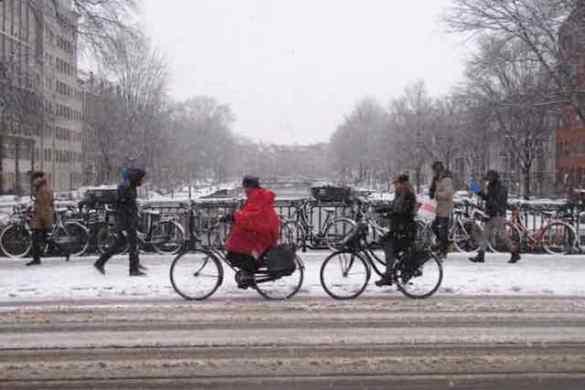 February in Amsterdam
