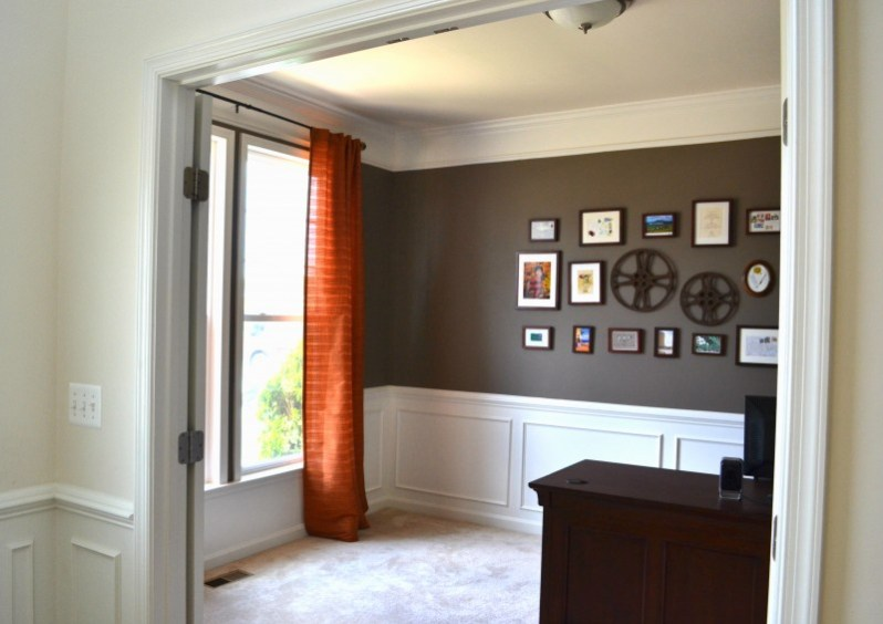 Home Office Makeover, Martha Stewart Brooke Trout