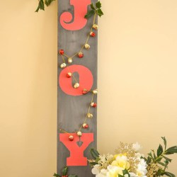 Christmas Joy Sign-Driftwood Joy sign