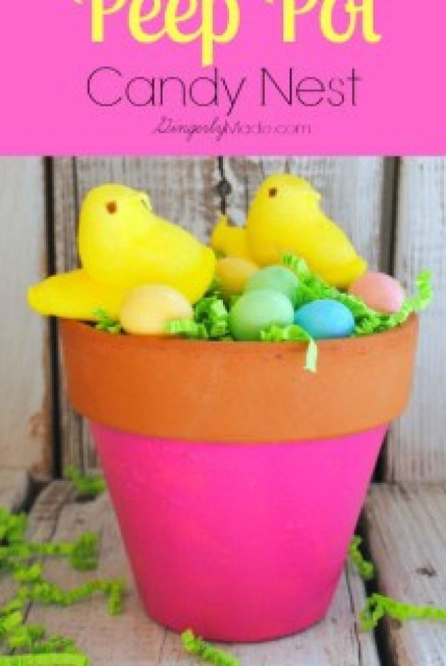 Peep-Pot-Candy-Nest