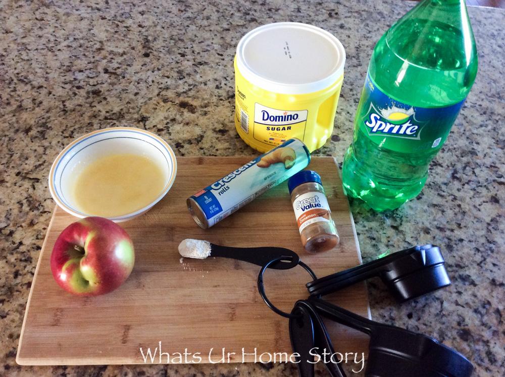 Apple Dumplings Recipe Ingredients