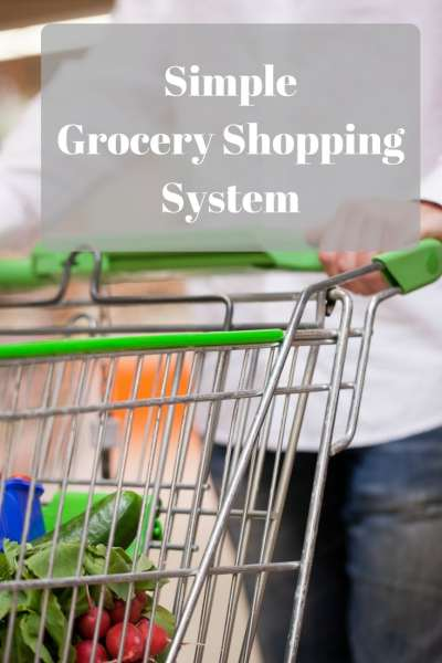 Simple Grocery Shopping System