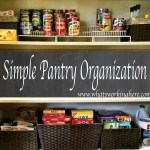 Spring Cleaning: Pantry Organization