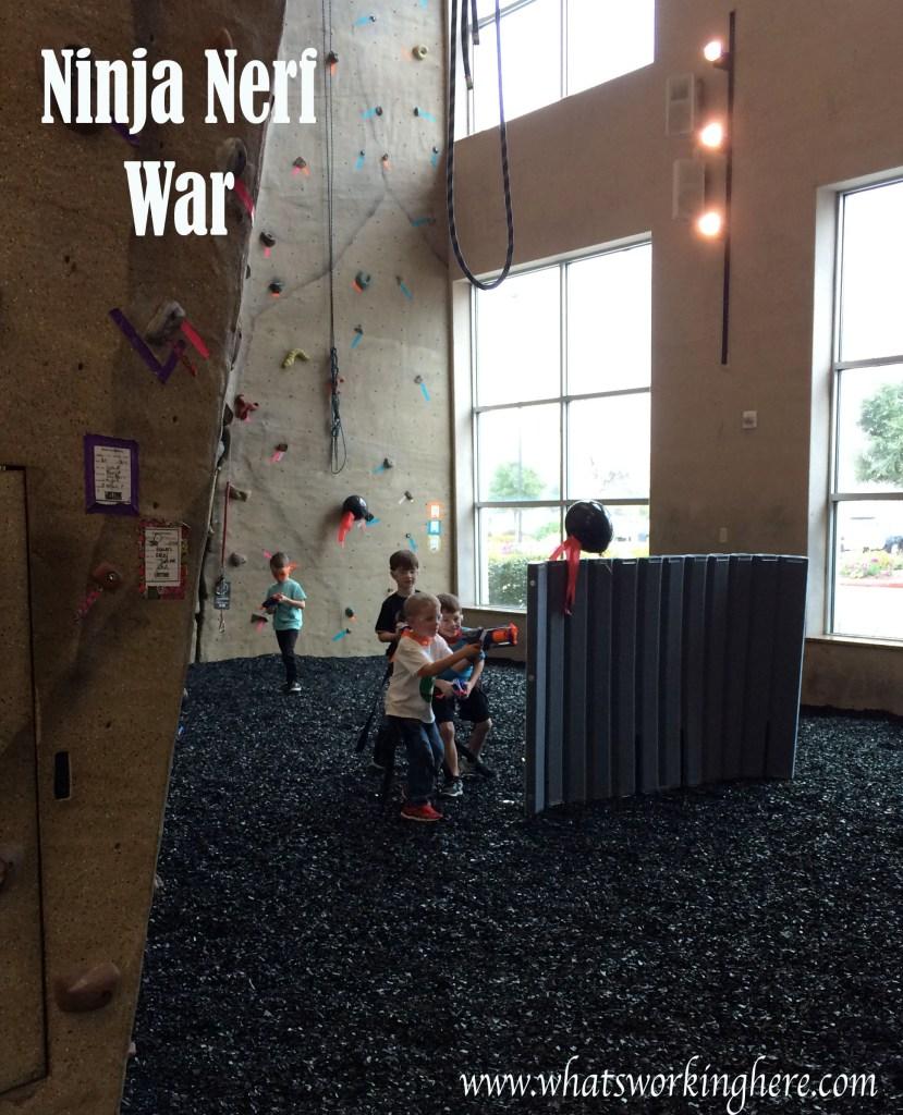 Ninja Nerf War