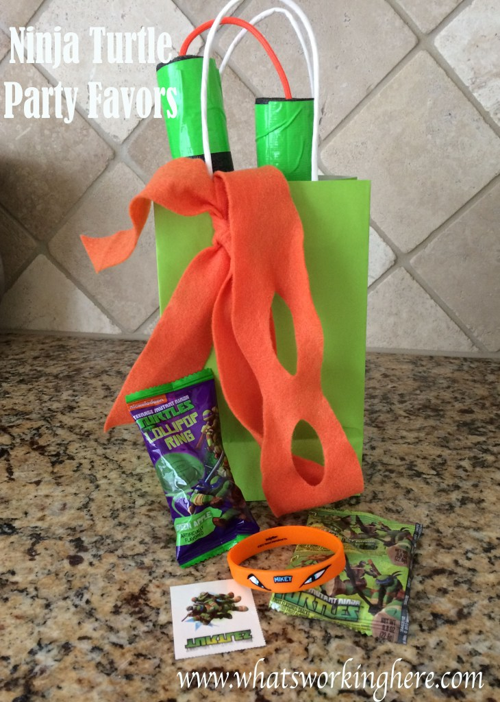 Ninja Turtle Party Favors