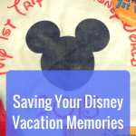 Saving your Disney Vacation Memories