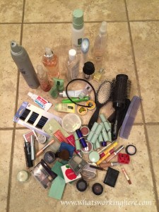 Beauty Product Clean Out