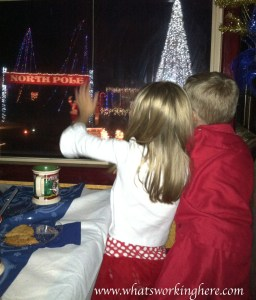 The North Pole- Polar Express Train Ride