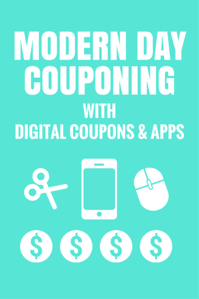 Modern Day Couponing with Digital Coupons & Apps