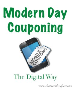 Modern Day Couponing- The Digital Way