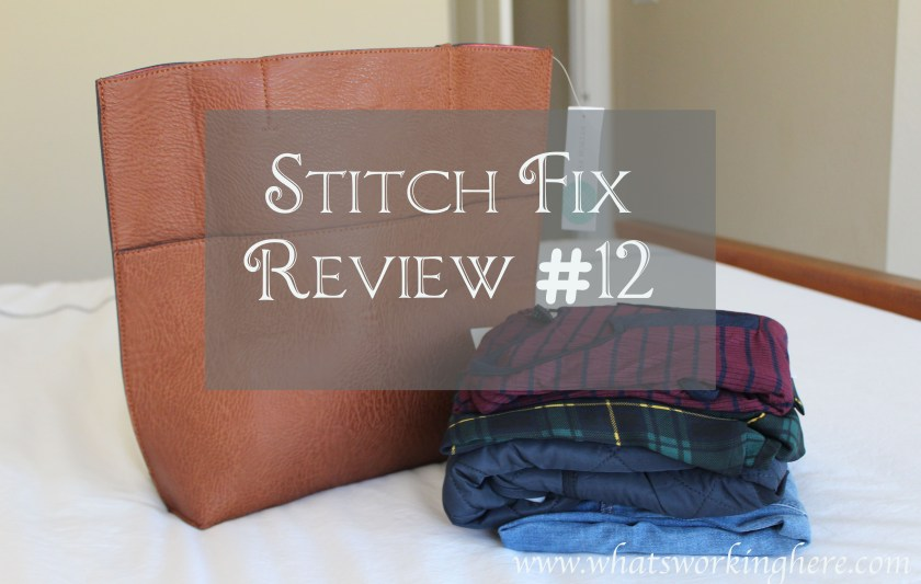 Stitch Fix Review #12