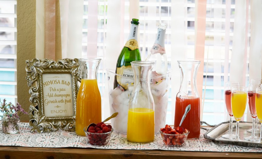 Bridal Brunch Mimosa Bar
