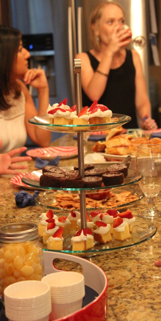 Bunco -eating and drinking