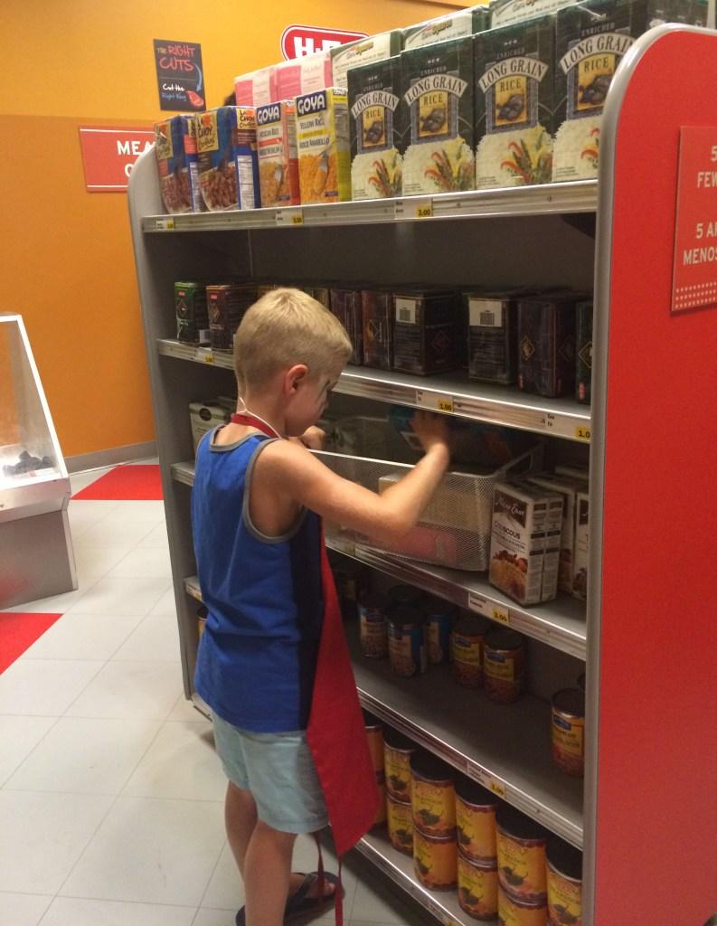 Children's Museum of Houston-grocery clerk