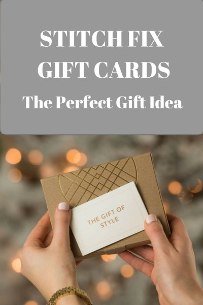 Stitch Fix Gift Cards - The Perfect Gift Idea
