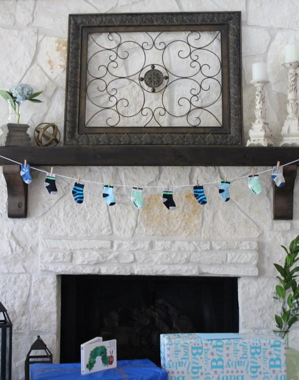 baby sock banner