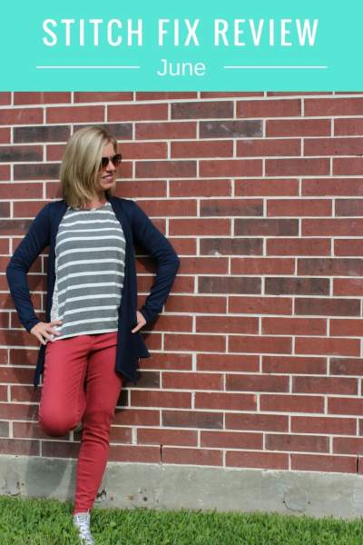 June Stitch Fix Review
