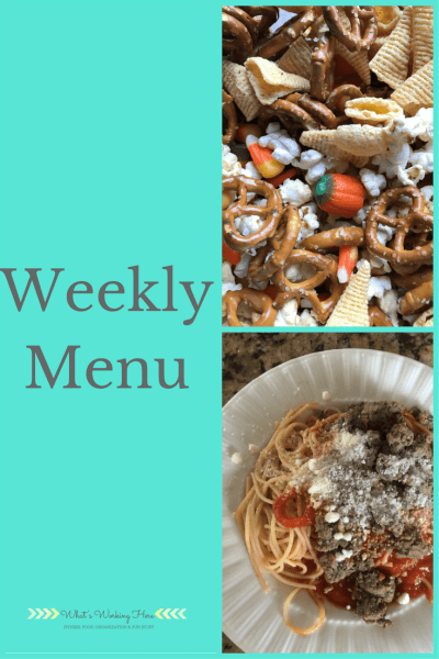 November 12th Weekly Menu