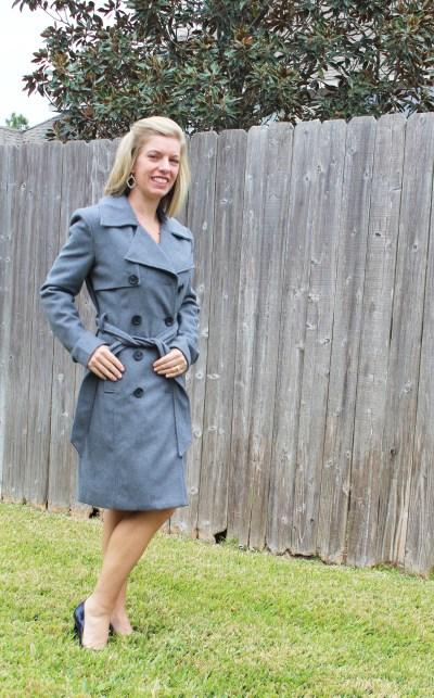 Stitch Fix -Bagatelle trench coat