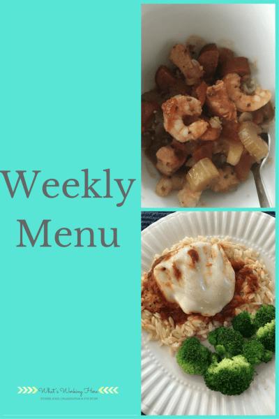December 3rd Weekly Menu - Slow Cooker Meals