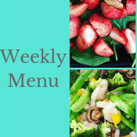 Weekly Menu - 80 Day Obsession Meal Plan B