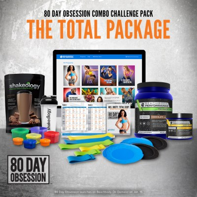 80 Day Obsession Challenge Pack