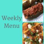 Weekly Menu 5/20/18 – Summer Snack Recipe