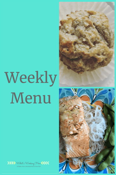 July 15th Weekly Menu - Liift4 meal plan