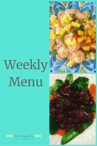 July 22nd Weekly Menu - Liift4 Meal Plan A