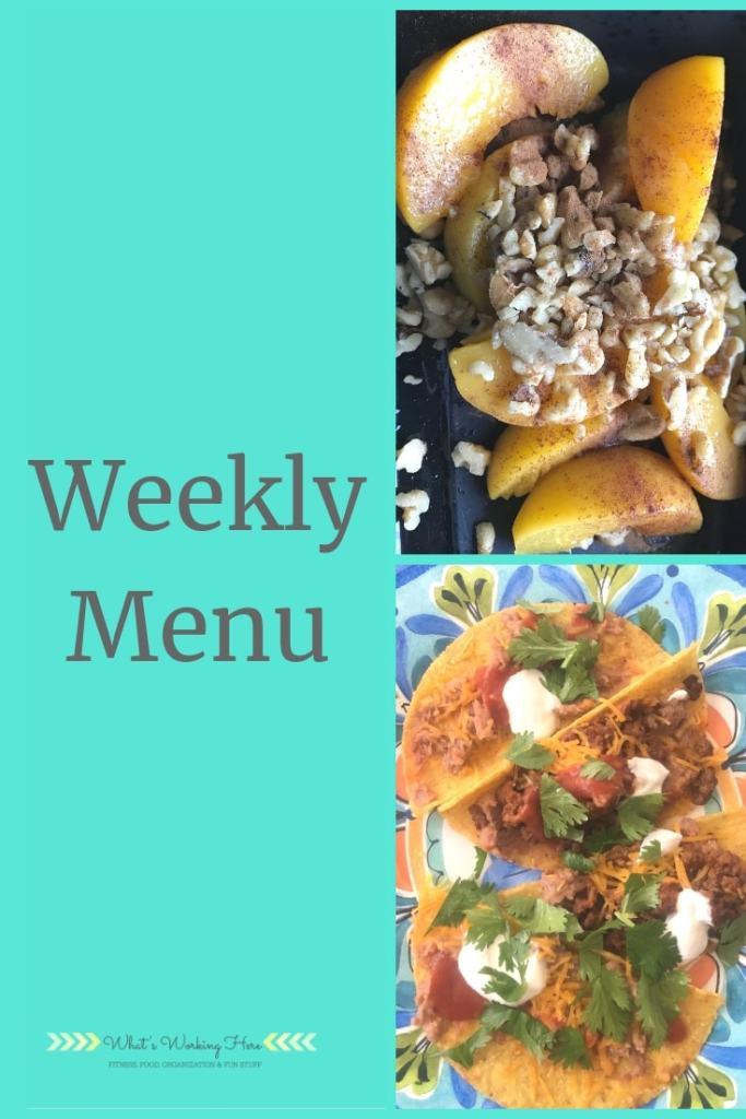March 10 Weekly Menu