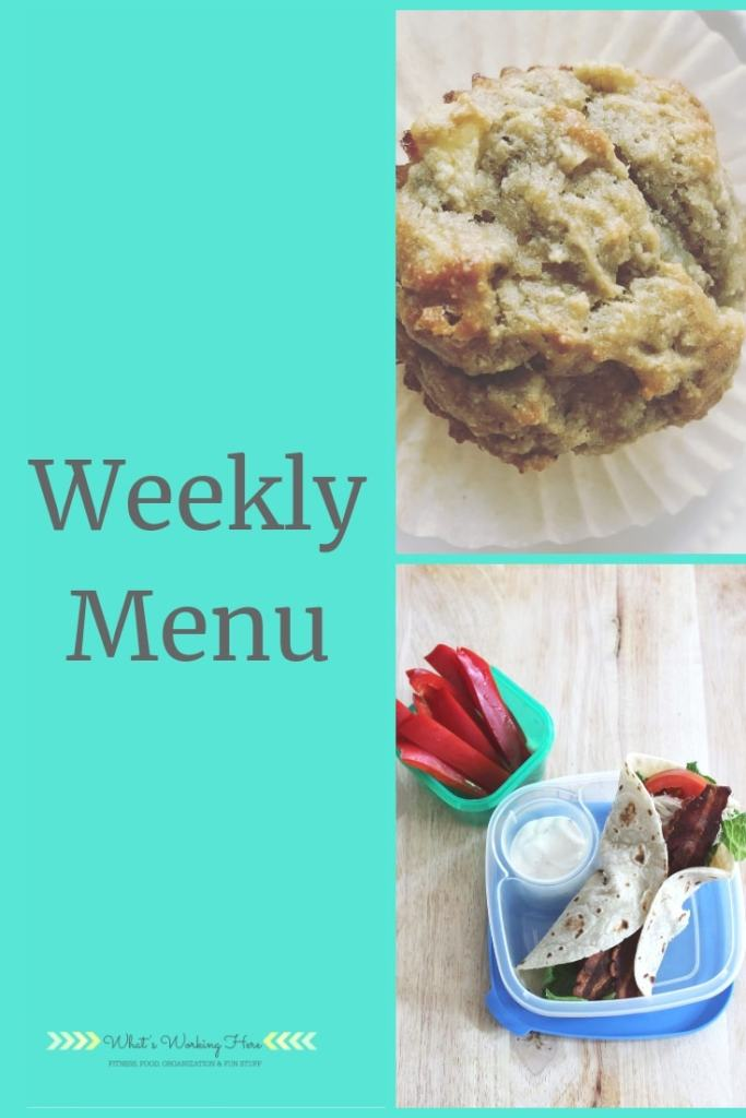 May 26 Weekly Menu - Memorial Weekend Menu