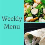 Weekly Menu 10/28/18 – Countdown to Vacation
