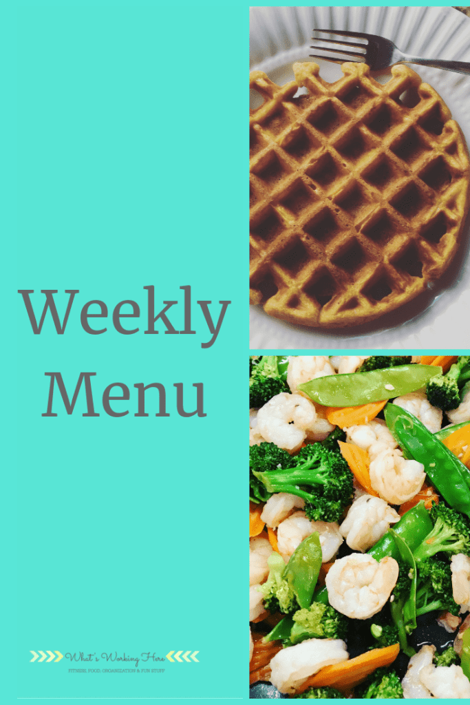 Sept 23 Weekly Menu - menu planning around your schedule