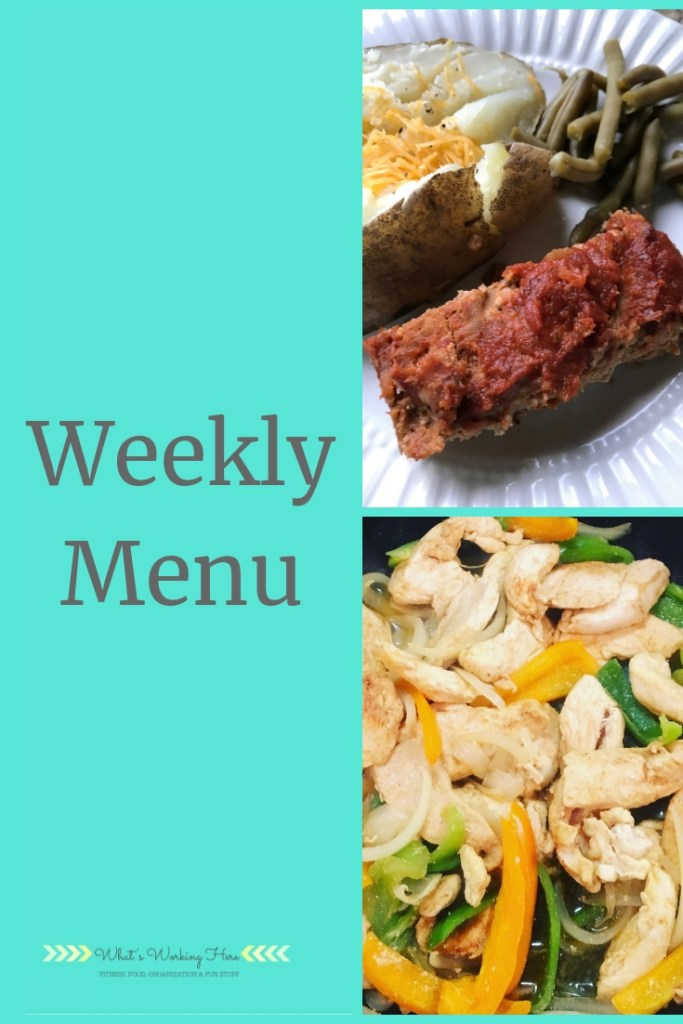 Sept 30th Weekly Menu - LIIFT4 Meal Plan A
