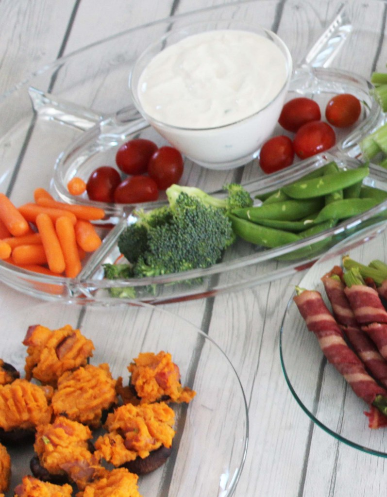 Veggies and FIXATE Ranch