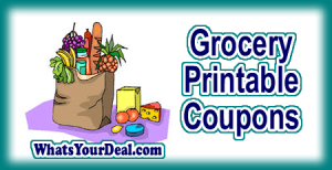 Grocery Printables