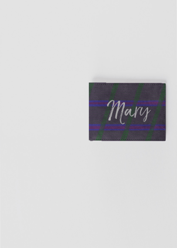 Mary Leather Wallet by Patricia Griffin